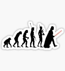 Dark side of Evolution Sticker