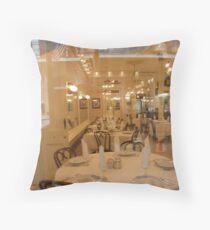 Glass Dining Throw Pillow