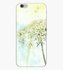 Queen Anne's Lace Watercolor Sketch iPhone Case