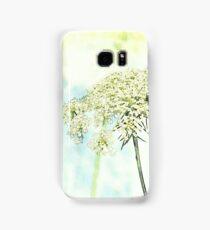 Queen Anne's Lace Watercolor Sketch Samsung Galaxy Case/Skin