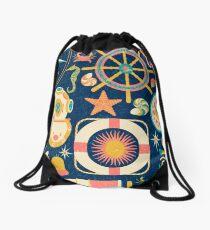 Ahoy! Drawstring Bag