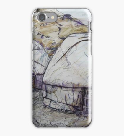 Sunrise at the Ger Camp iPhone Case/Skin