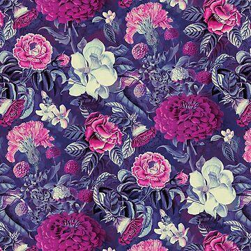 Night Garden Purple by rizapeker