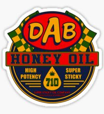 DAB Honey oil 710 Sticker