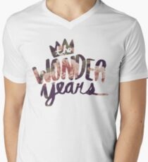 The Wonder Years floral logo  T-Shirt