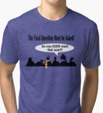 The Cosmic Question Tri-blend T-Shirt