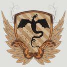 Dragon Heraldry by linearburn