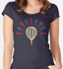 Modest Mouse balloon Women's Fitted Scoop T-Shirt
