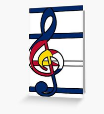 Piece and Harmony in Colorado Greeting Card