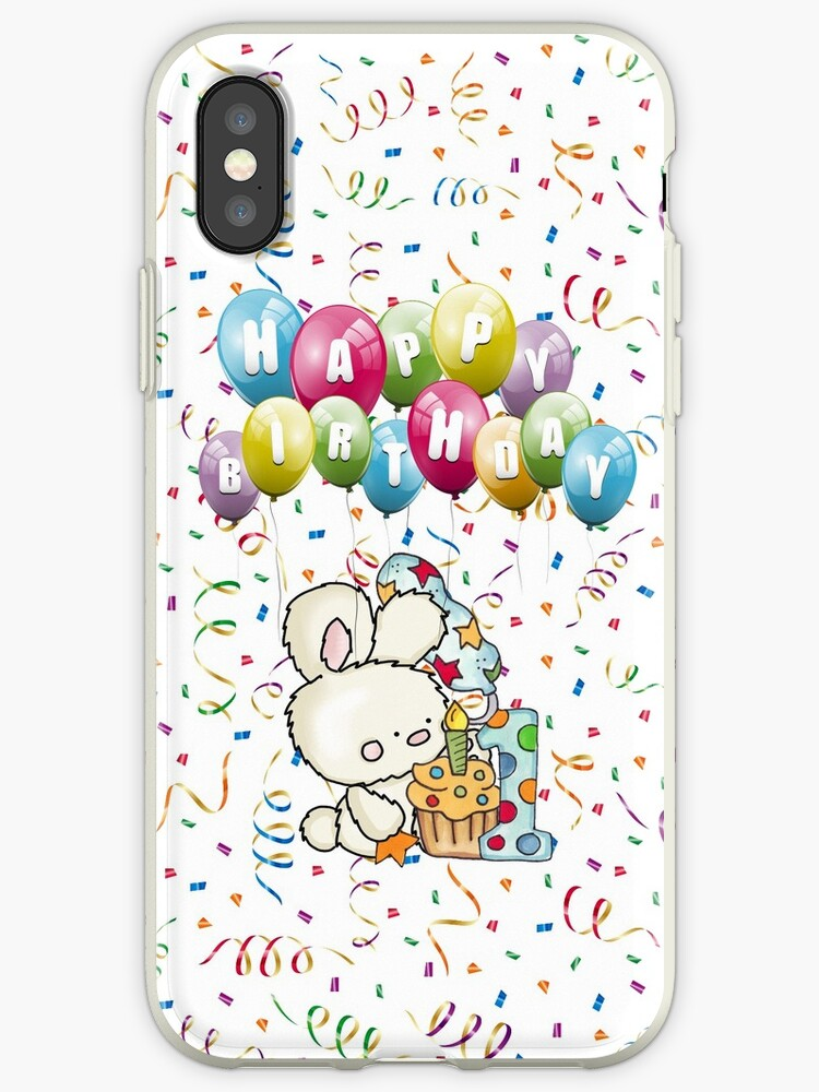 Happy Birthday 1st IPhone Cases Covers By