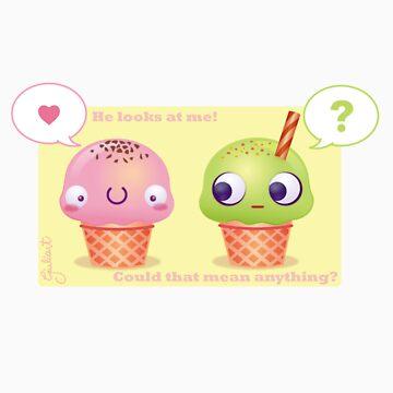 Little Ice cream by Julyah