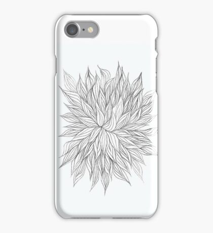 Lovely Lined Leaves iPhone Case/Skin