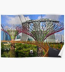Gardens by the Bay, Singapore Poster