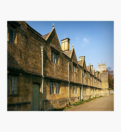 Cotswold Almshouses Photographic Print