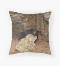 Maymont Bear - Richmond, VA Throw Pillow