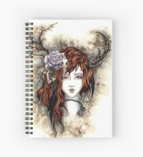 The Wood Witch Spiral Notebook