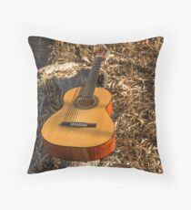 Thinking of the music...... Throw Pillow