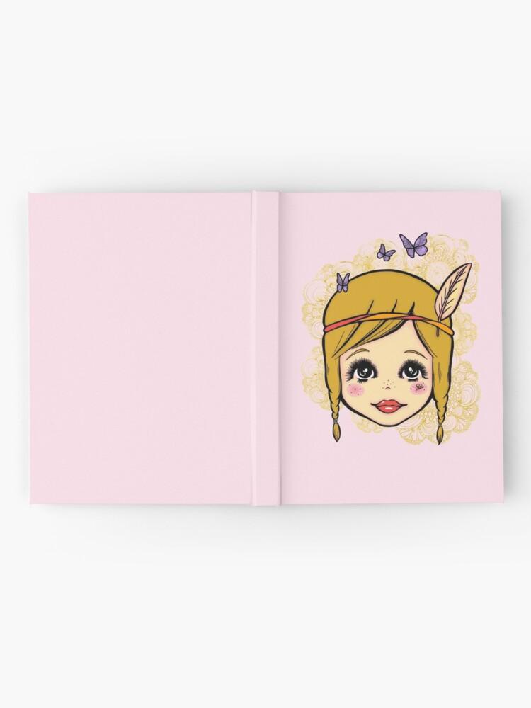 Alternate view of Boho Girl in the Spring Hardcover Journal