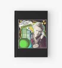 Popular Science: M. Curie (Polish) Hardcover Journal