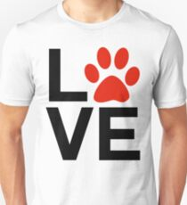 Love Dogs and/or Cats T-Shirt
