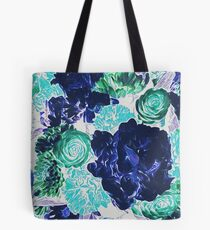 Bouquet in Blue - Floral Art - Flower Lovers Gift Tote Bag