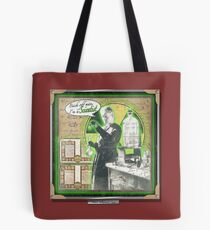 Popular Science: Marie Curie Tote Bag