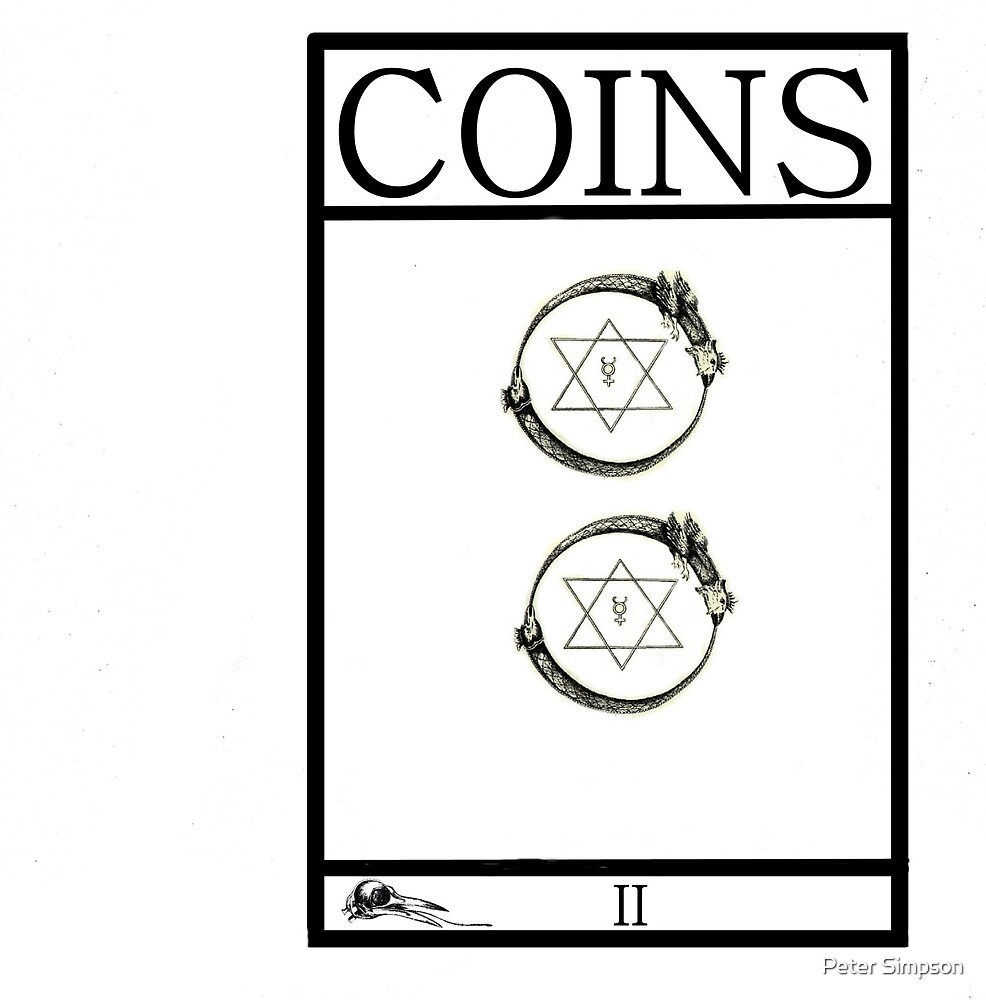 2 of Coins by Peter Simpson