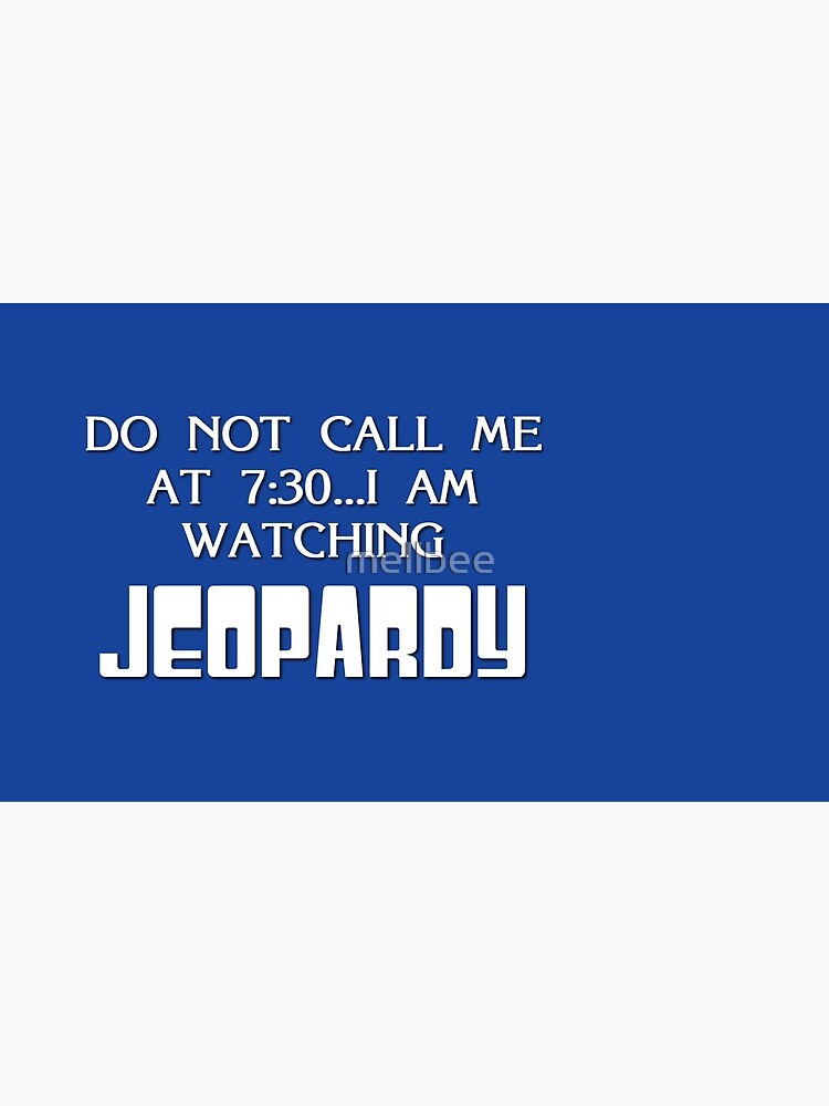 Jeopardy by mellbee