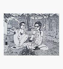 Original Ink Drawing (Escape) Photographic Print