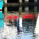 Reflections II - Lakes Entrance by Alison Howson