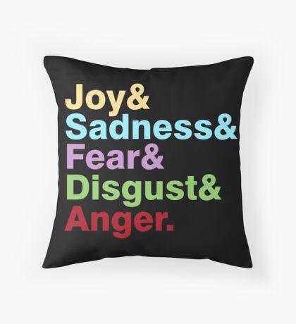 The Emotions Throw Pillow