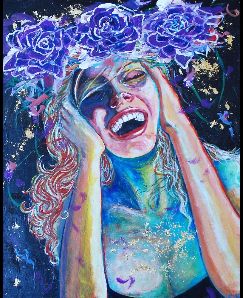Original Acrylic Painting (Seventh Heaven) by Christina Martine