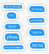 Chat Bubble Pack Sticker