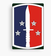 189th Infantry Brigade (United States) Canvas Print