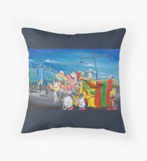 Bendigo Easter Parade Throw Pillow
