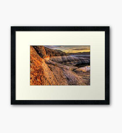 Rock Around Framed Print
