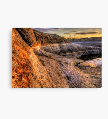 Rock Around Canvas Print