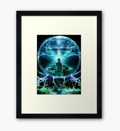 Interdimensional Bubble Framed Print