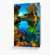Morning at Sorrento Back Beach Greeting Card