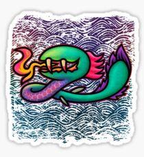 Earthbound Kraken Sticker