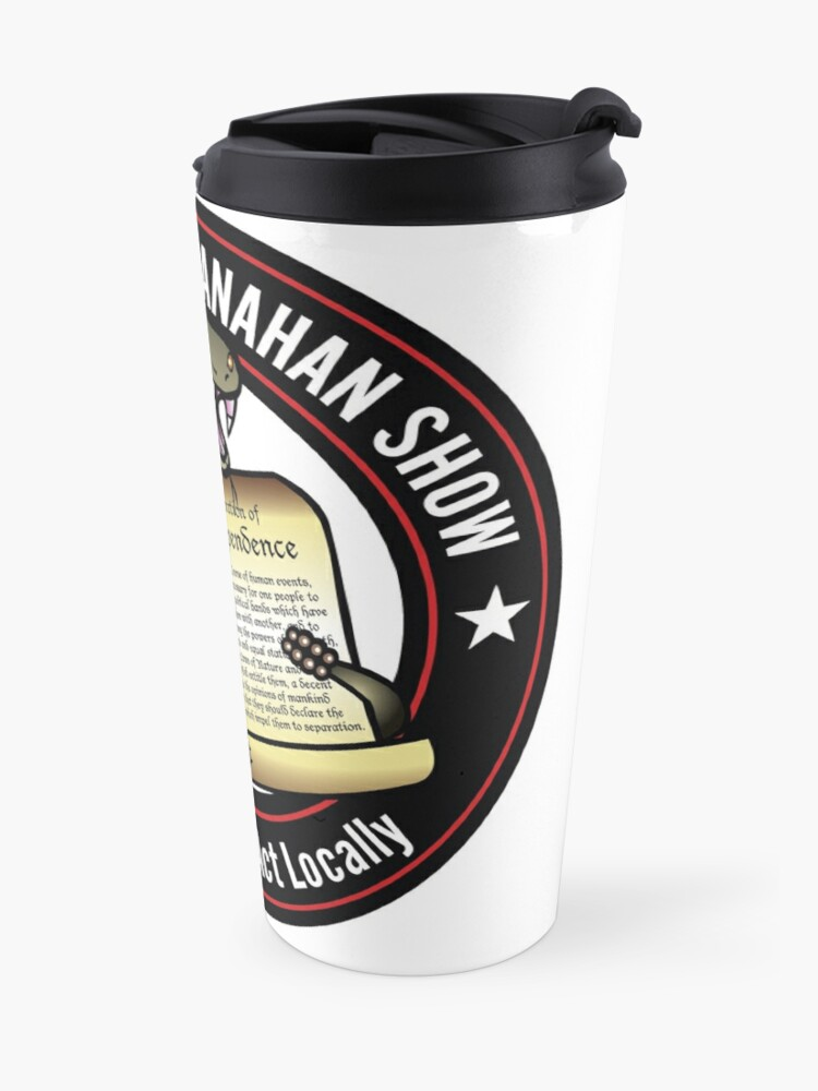 Alternate view of The Brion McClanahan Show Travel Mug