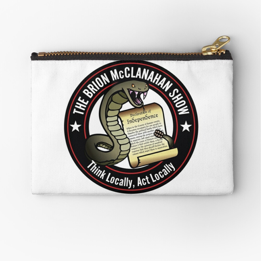 The Brion McClanahan Show Zipper Pouch