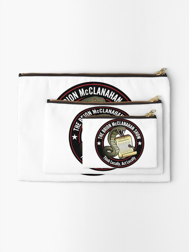 Alternate view of The Brion McClanahan Show Zipper Pouch