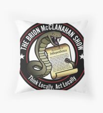 The Brion McClanahan Show Throw Pillow