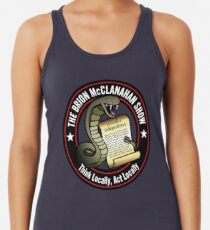 The Brion McClanahan Show Racerback Tank Top
