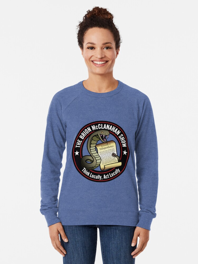 Alternate view of The Brion McClanahan Show Lightweight Sweatshirt