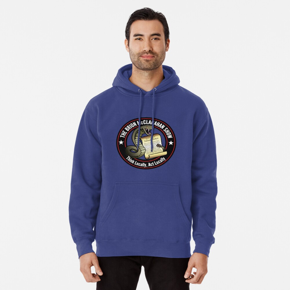 The Brion McClanahan Show Pullover Hoodie