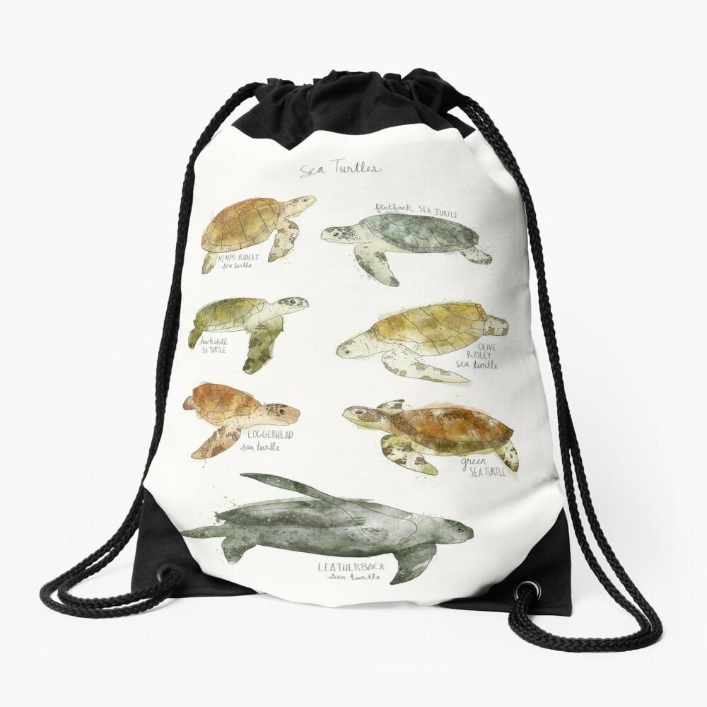 Sea Turtles Drawstring Bag