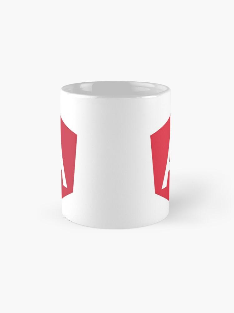 Alternate view of Angular Mug