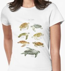 Sea Turtles Fitted T-Shirt